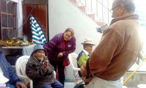 """""""Beneficencia de Huaraz, agradece entrega de silla de rueda al Asilo"""""""