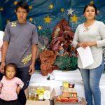 Beneficencia de Huaraz entrega víveres a padres de menor que fue atropellada