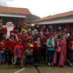 Beneficencia de Huaraz realiza chocolatada en Huahuyahuillca