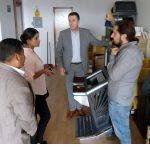 Reunión con representantes de la Lotería Nacional