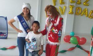 """Miss Huaraz visitó a los niños del Comedor """"Santa Ana"""""""