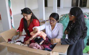 Beneficencia de Huaraz recibe adjudicación de media tonelada de la Intendencia de Aduanas Tacna