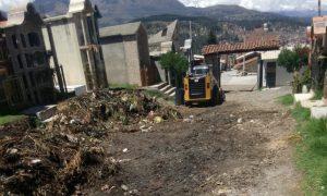 Beneficencia Huaraz realiza limpieza en el cementerio general
