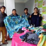 Sociedad de Beneficencia de Huaraz entrega donativos para población de Olleros