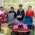 La Sociedad de Beneficencia de Huaraz entrega donativo a la Beneficencia de Aija