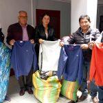 Beneficencia de Huaraz, entrega donativo a Beneficencia de Recuay