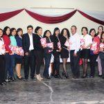 Presidente de la Beneficencia de Huaraz saluda a colaboradoras por el Día de la Mujer