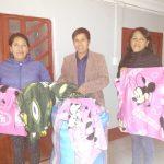 Beneficencia de Huaraz entrega donativos para Centro de Salud de Huauyahuillca