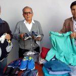 Beneficencia de Huaraz entrega donativos a Convento de San Antonio de Padua