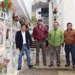 Beneficencia de Huaraz realiza entrega de terreno para incio de Ejecución de la Obra en el Pabellón de Nichos Virgen del Rosario