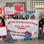 Sociedad de Beneficencia de Huaraz participa activamente en pasacalle por Día del Niño Peruano