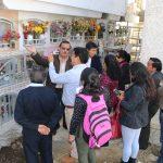 """Presidente del Directorio de la Sociedad de Beneficencia de Huaraz, explica de los Trabajos que se viene ejecutando en el lado Oeste del Pabellón de Nichos """"Virgen Del Rosario"""""""
