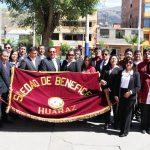Sociedad de Beneficencia de Huaraz realizó Desfile Cívico por conmemorarse 182 Aniversario de Creación Institucional