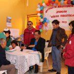 """La Sociedad de Beneficencia de Huaraz realizó atención médica y corte de cabello para el Asilo """"Mosquera Paucar"""""""