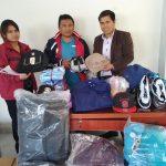 Beneficencia de Huaraz entrega donativo a comunidad campesina Juan Velasco Alvarado de Huaylas