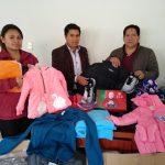 Beneficencia de Huaraz entrega donativos a la Municipalidad de Huanchay