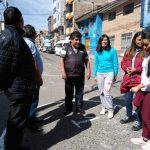 Beneficencia de Huaraz participa activamente de simulacro de sismo
