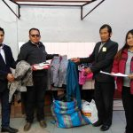 Catac: Pobladores de bajos recursos son beneficiados con donativos