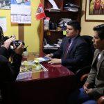 Beneficencia agradece el apoyo de periodistas de Huaraz