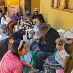 Estudiantes de la ULADECH visitan a los adultos mayores del asilo