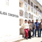 Beneficencia de Huaraz recepción obras de refacción de los pabellones en el cementerio