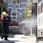 Con normalidad de realizó fumigación en el cementerio de Huaraz