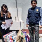Sexta Fiscalía Provincial Penal hace entrega de donativos para el Asilo