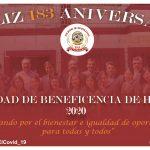 ¡Feliz 183 Aniversario Sociedad de Beneficencia de Huaraz!