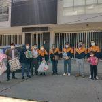 ROTARY HUARAZ ENTREGA PRESENTES A ADULTOS DEL ASILO MOSQUERA PAUCAR